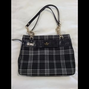 Kate Spade Plaid Darcy Shoulder Bag